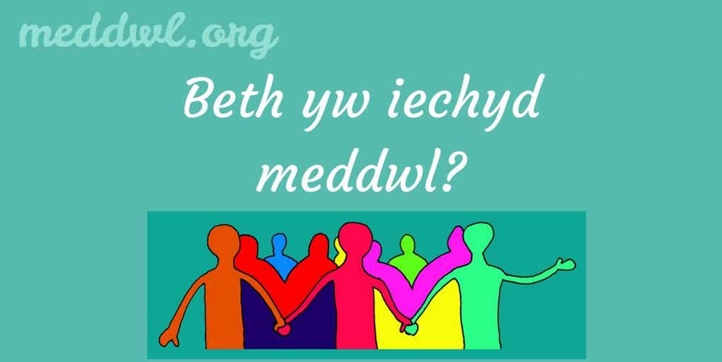 Beth yw Iechyd Meddwl?