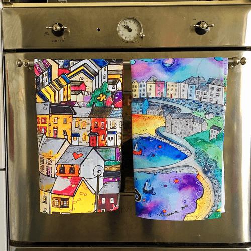 Rhiannon Art Tea towels