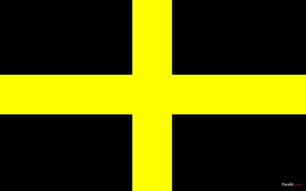 St David's flag 1280x800 parallel.cymru wallpaper