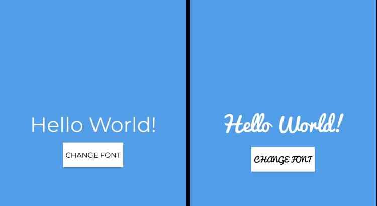 change Fonts Typeface in Android Application 01