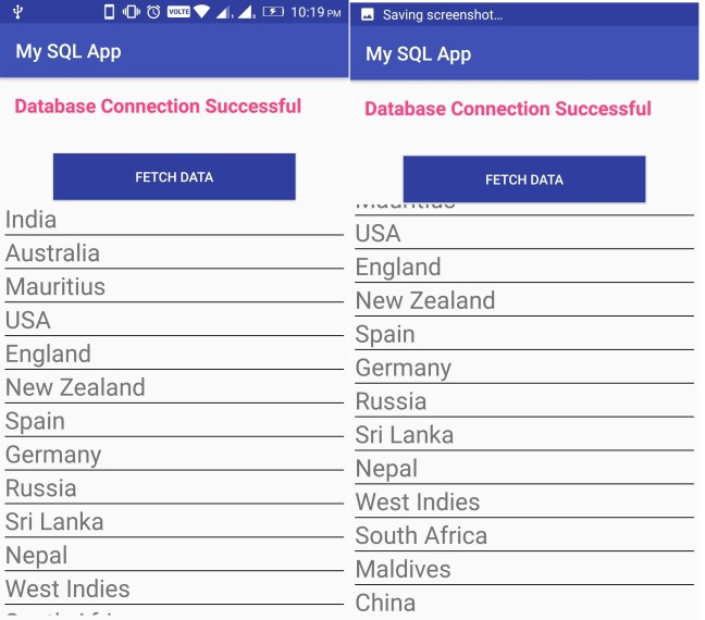 Android Bind ListView from MySQL Database 01