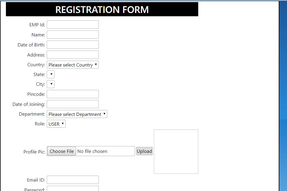 How To Create Registration Form In Asp Net With Ms Sql Database Parallelcodes