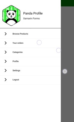 Xamarin Forms – Create MasterDetailPage Navigation drawer