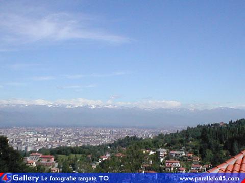 Torino Panorama dalla collina di Cavoretto  Parallelo45