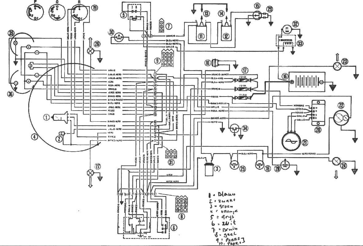 mini schema cablage electrique