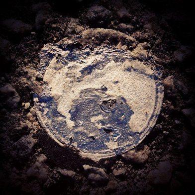 Η Σελήνη (όπως φαίνεται από τη Γη, με αραιή νέφωση).