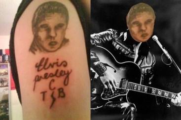 5.) Y así lucia Elvis?