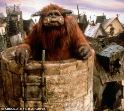 Creo en 1986 a Ludo el gigante de la película británica-americana El Laberinto