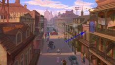 La princesa y el Sapo - Al comenzar la película vemos la alfombra de Aladino.