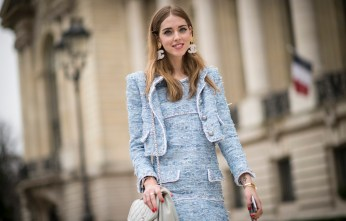 PARIS, FRANCE - MARCH 10:  Chiara Ferragni  is wearing Chanel in the streets of Paris during the Paris Fashion Week on March 10, 2015 in Paris, France.  (Photo by Timur Emek/Getty Images)