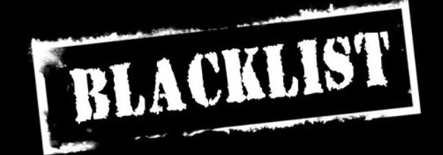 Η μαύρη λίστα του Web Hosting No2