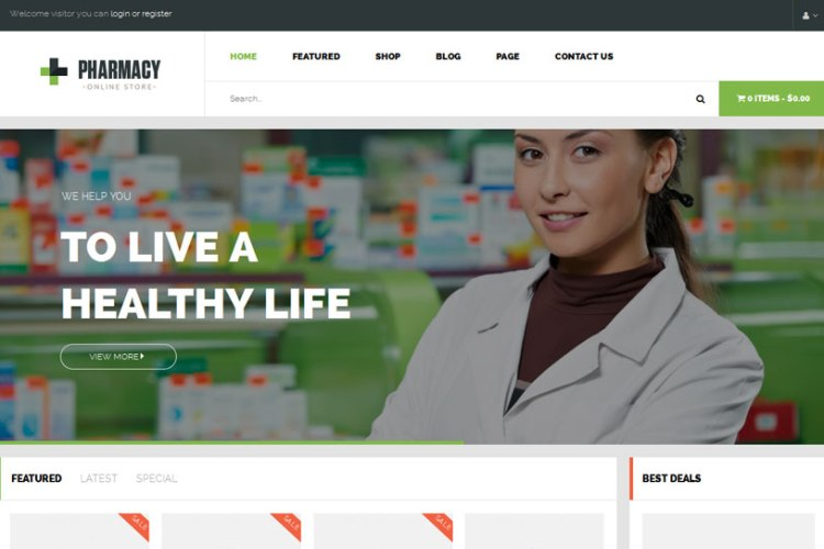 Pharmacy-WordPress-Themes