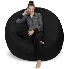 Sofa Sack Reviews Cama Carrefour Colombia Top 10 Best Large Bean Bag Chairs In 2019 Paramatan Bags 6 Feet Giant Black