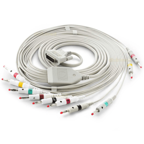 Patient Cable for Contec CMS-80A Handheld ECG and CMS-100G