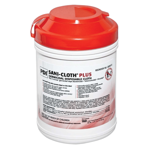 Sani-Cloth Disinfectant, 160 count canister