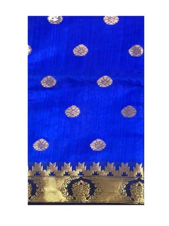 Bhagalpuri Silk Saree with Resham Embroidery