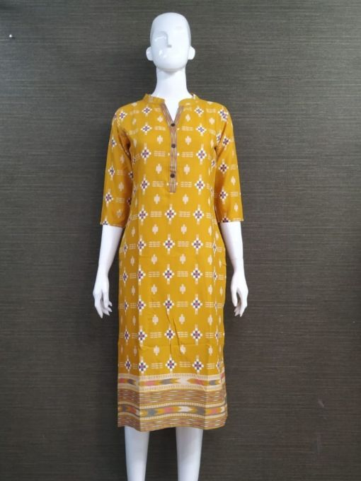 Cotton Flex Fabric Kurti