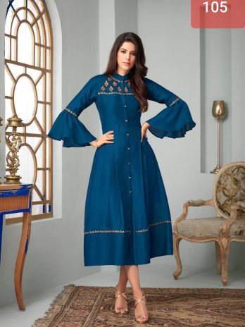 Party Wear Full Stitched Kurti