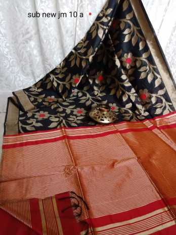 Silk Saree with Zari Pallu