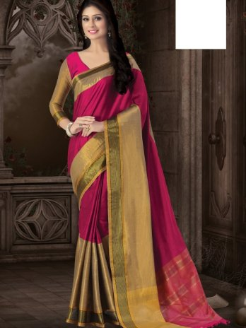 Cotton Soft silk Sarees