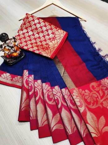 Doriya Ground Saree