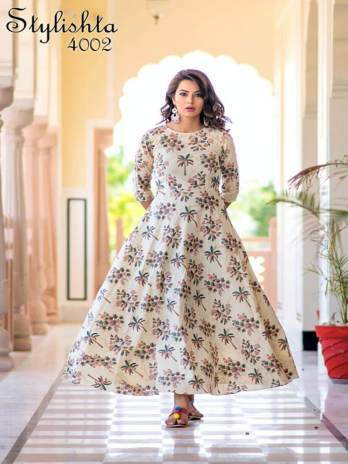 Heavy Rayon With Digital Print Kurti