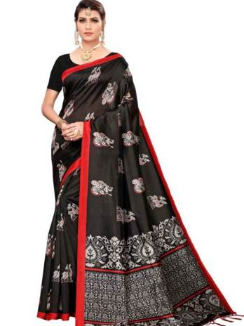 Art Silk Printed Fancy Sarees