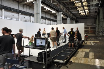shooting for GE commercial - with our 3d printers