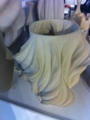 Julia fraktál váza agyagból