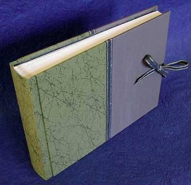Traditional binding.