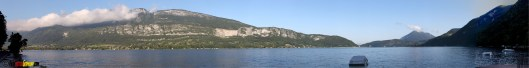 Panorama Lac de Annecy
