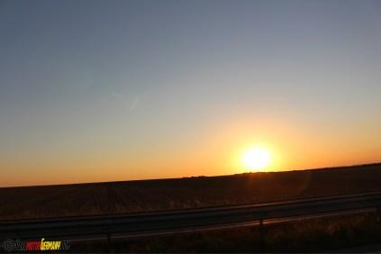 Sonnenuntergang Schnappschuss