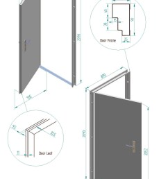 fire and security door dimensions installation instructions for fire and security doors  [ 1459 x 2160 Pixel ]