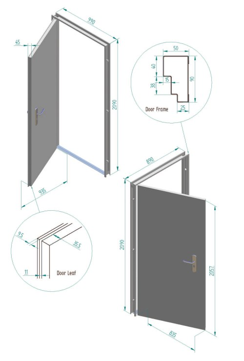 small resolution of fire and security door dimensions installation instructions for fire and security doors