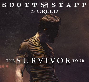Scott Stapp Of Creed The Survivor Tour Wednesday 6 17 20 At
