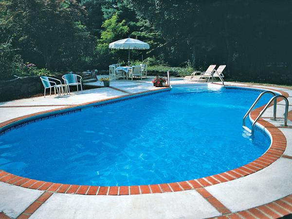 Kafko Oblique Inground Pool