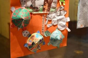 Ζωγραφιές και κατασκευές από μαθητές του ολοήμερου δημοτικού σχολείου του Παληού.