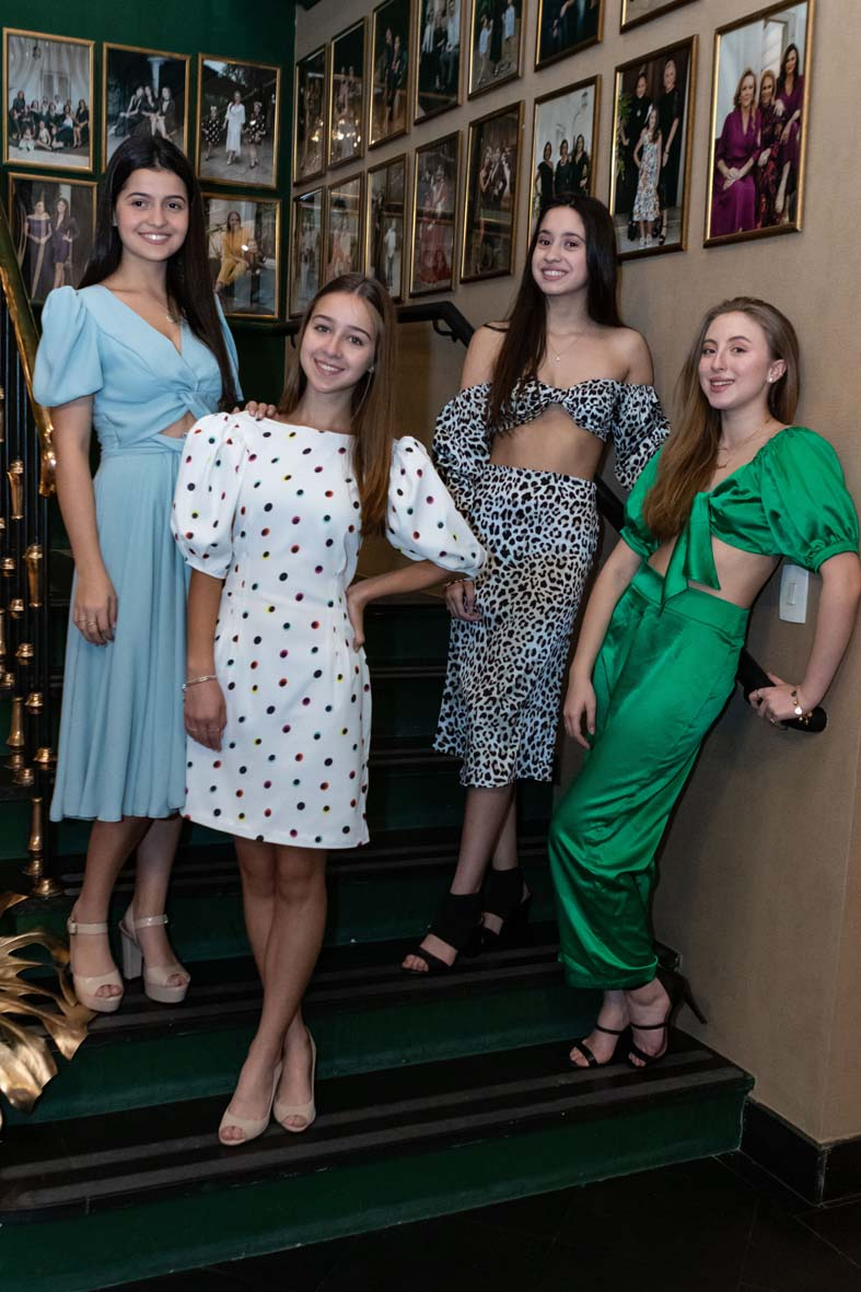 Brunch com toques fashion para as debutantes do Graciosa
