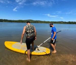 Remando na virada: Passaúna Paddle Club tem atividades individuais neste final de ano