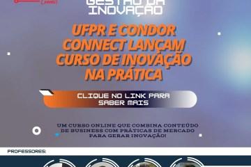 UFPR e Condor Connect lançam curso gratuito sobre gestão e inovação