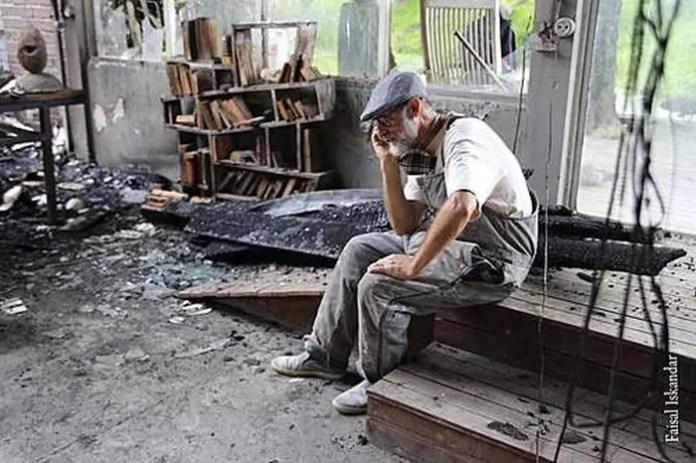 APAP/PR faz vakinha online para reconstruir atelier destruído por incêndio