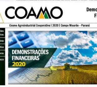 Coamo inova na apresentação das Demonstrações Financeiras do exercício 2020
