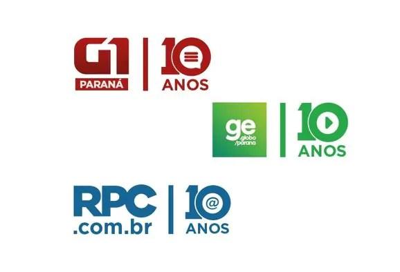 G1, GE e rpc.com.br: 10 anos no dia a dia dos paranaenses