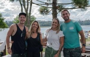 Casal nômade: Cris Dias e Caio Paduan visitam o passaúna