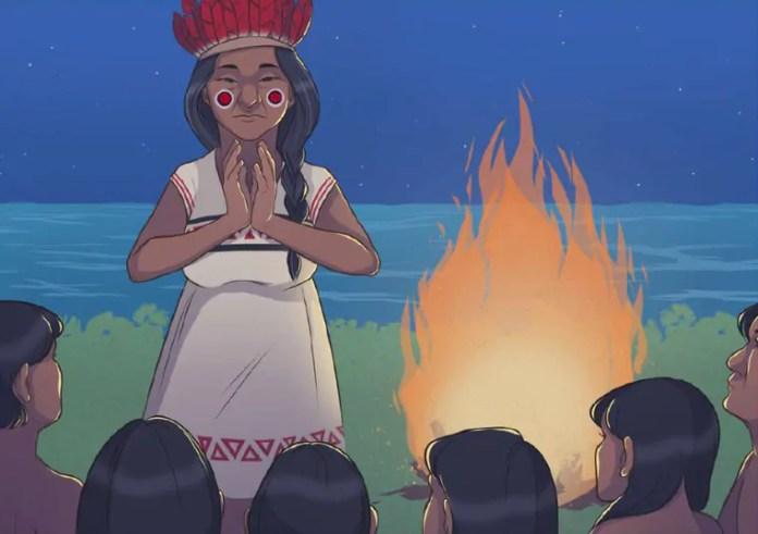 História em quadrinhos plurilíngue retrata língua indígena de sinais de forma inédita
