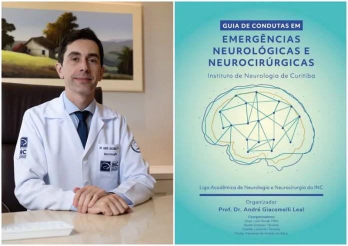 Experiência no Pronto Atendimento do Hospital INC é tema de livro sobre emergências neurológicas e neurocirúrgicas