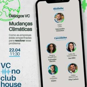 ClubHouse da Votorantim Cimentos promove encontro sobre Mudanças Climáticas