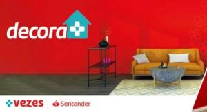 Santander lança feirão para financiar móveis e decoração de 2 mil lojas em até 24 meses