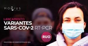 Kit que detecta três variantes da COVID está disponível para pesquisas no Brasil