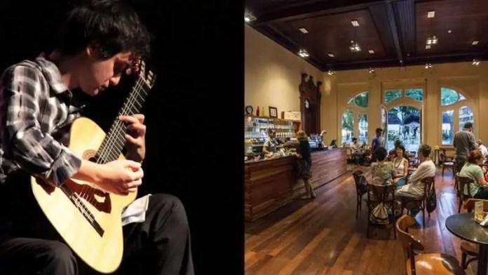 Café do Paço retoma shows musicais nesta quarta-feira
